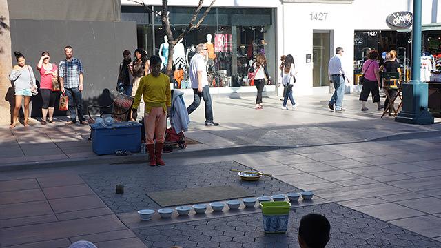 サンタモニカ・3番街プロムナード